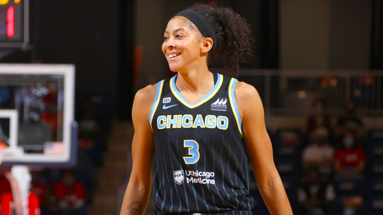 Sky's Parker to be first woman on NBA 2K cove…