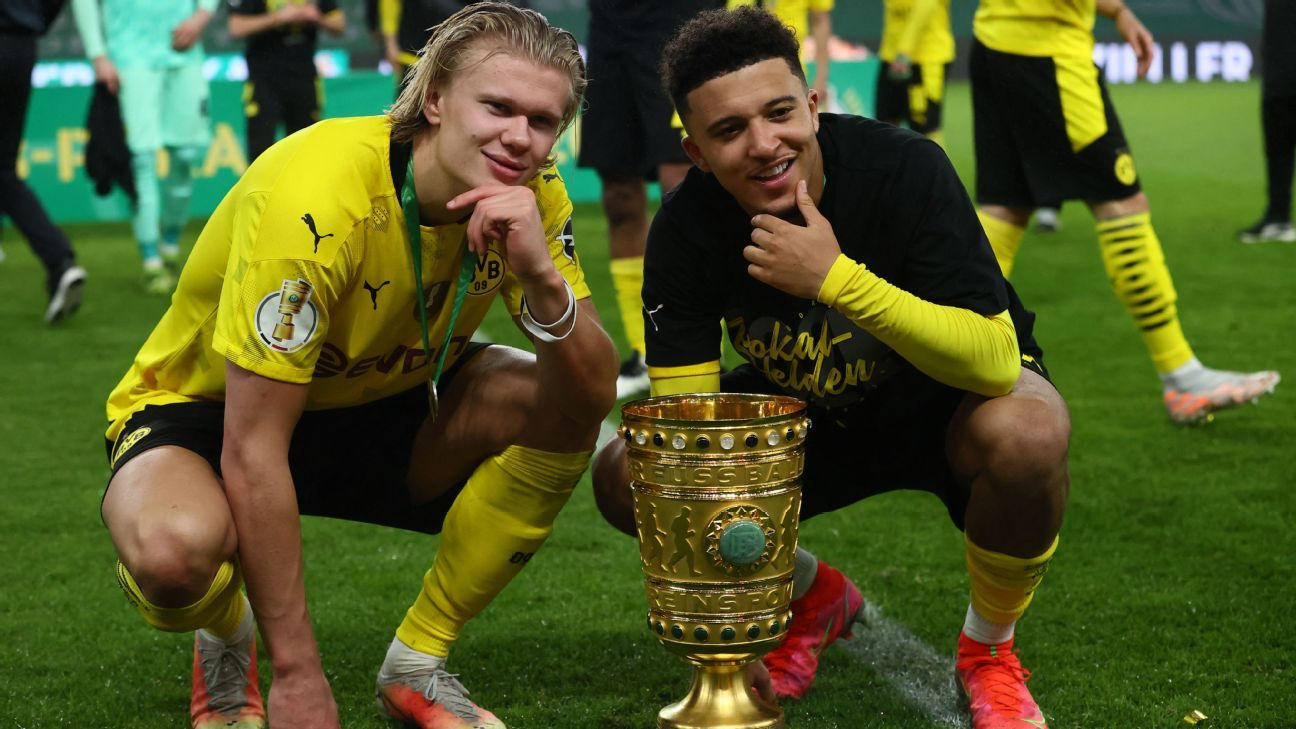 Sancho to Man United, but Haaland looks set to stay