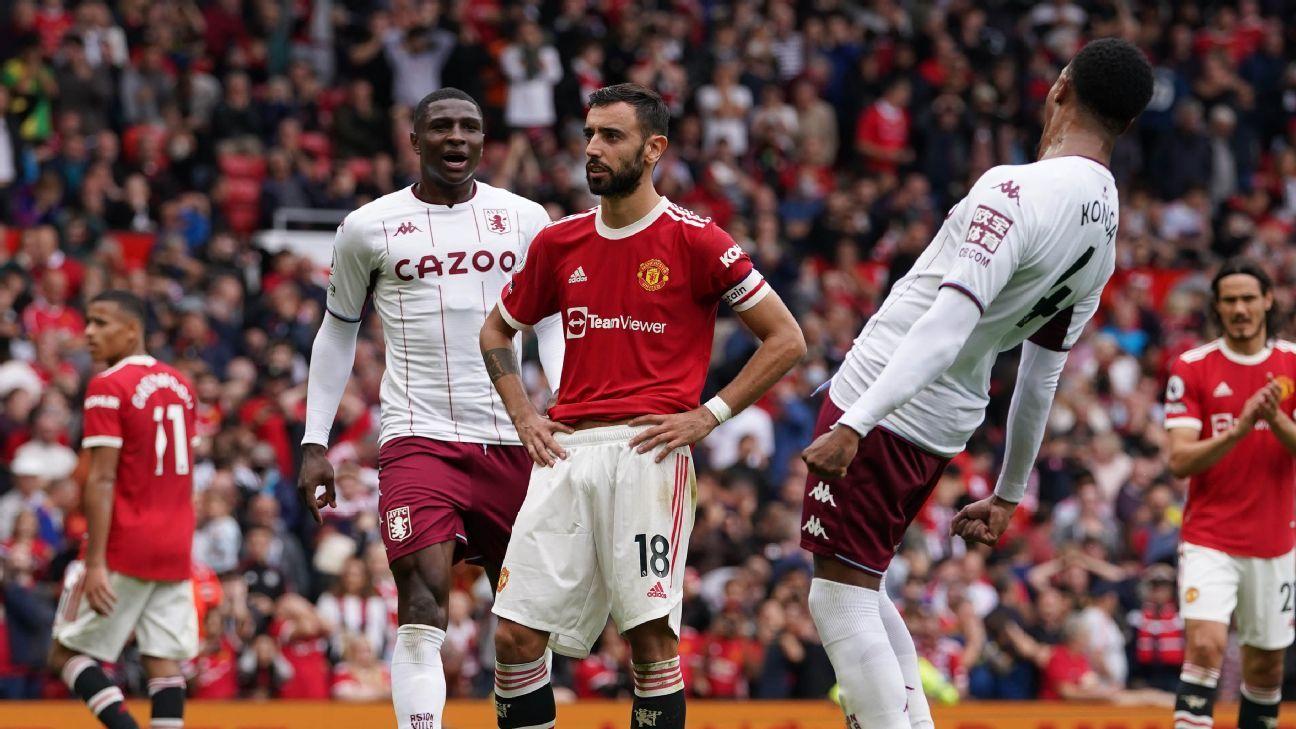 Manchester United vs. Aston Villa – Soccer Match Report – September 25, 2021 – ESPN