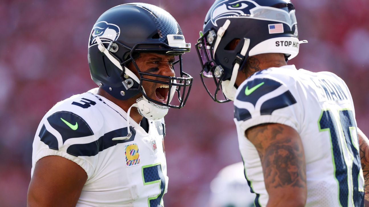 Seahawks, 49ers explode for three quick touchdowns