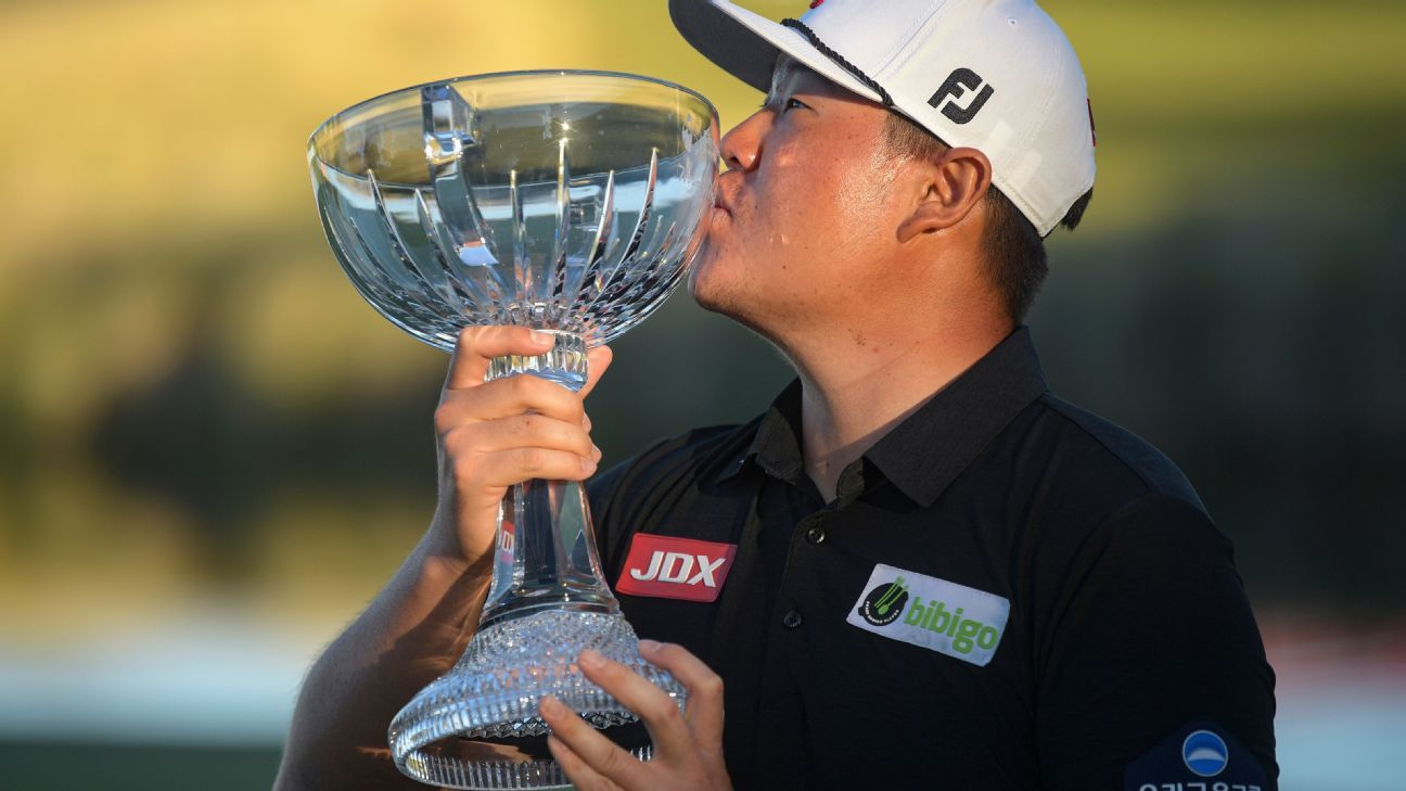 Sungjae Im runs away with Shriners Open victory