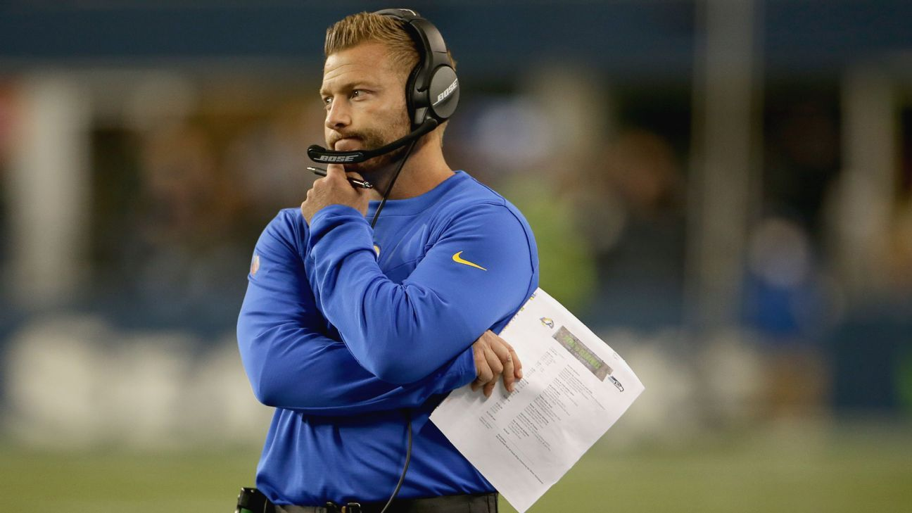 Rams' McVay regrets how Goff trade unfolded