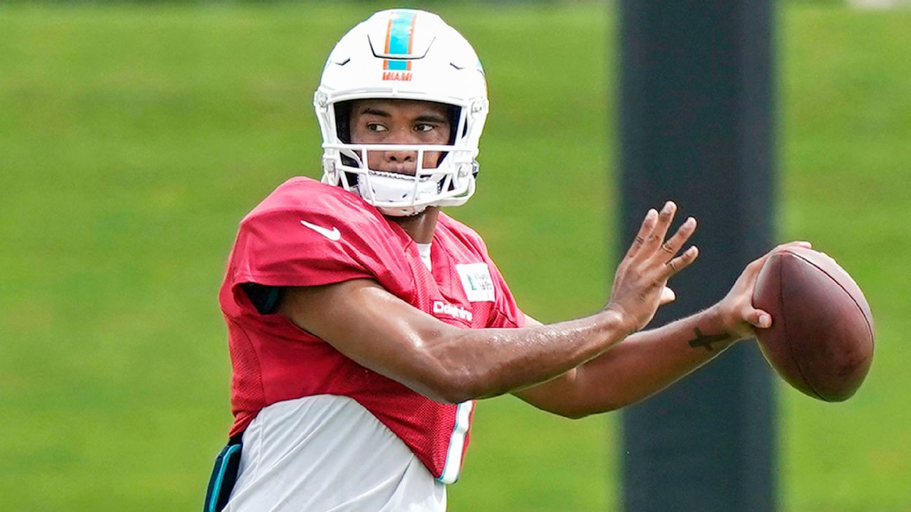 Tua likely to start for Dolphins, barring setbacks