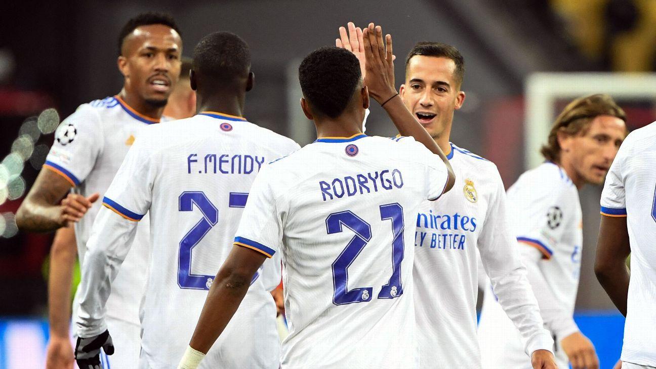 Shakhtar Donetsk vs. Real Madrid – Football Match Report – October 19, 2021 – ESPN